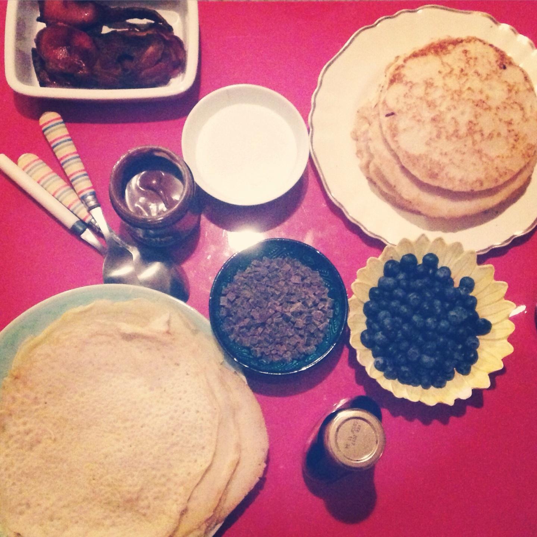 Vegan, gluten and dairy free pancakes