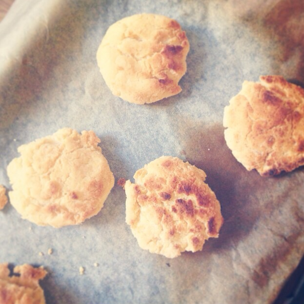 Gluten, dairy and egg free scones
