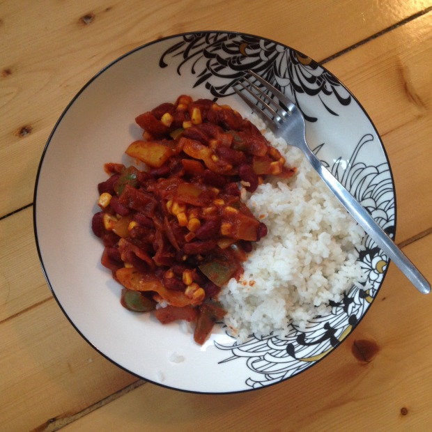 Vegetable chilli