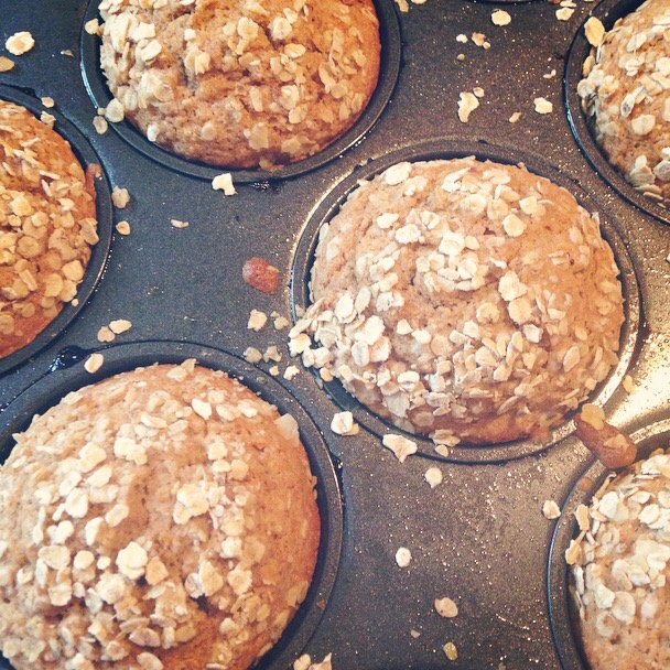 Wheat and dairy free butternut squash muffins