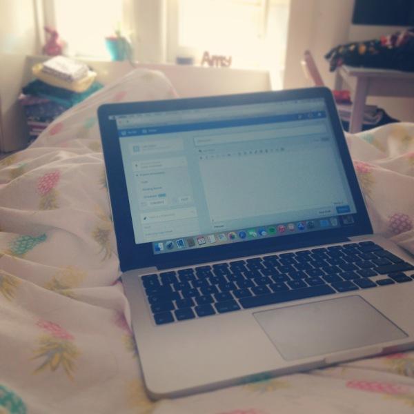 Lazy day food blogging