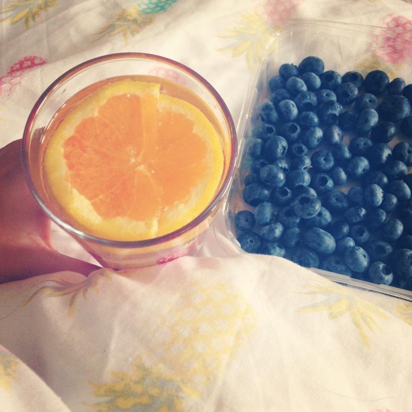 orange water
